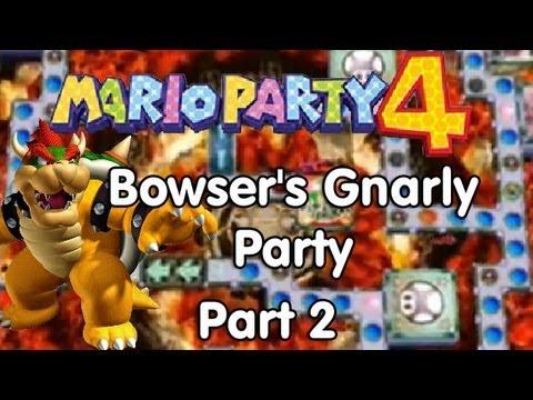 Mario Party 4 Walkthrough Bowser S Gnarly Party Part 1