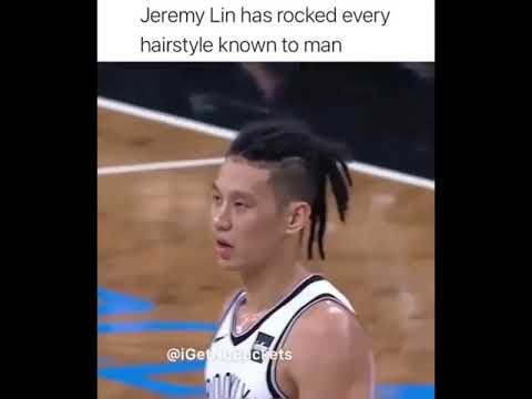 Jeremy Lin has rocked every hairstyle know to man 🤣🤣🤣😭😭😭😭😭😭