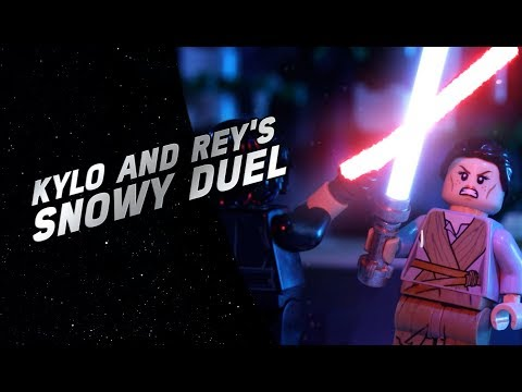 Kylo and Rey's Snowball Fight - LEGO® Star Wars™ Battle Story