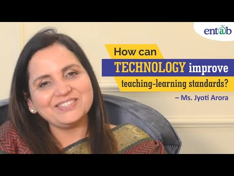 How can technology  improve teaching-learning standards? | Ms  Jyoti Arora | CampusCare EdTalks