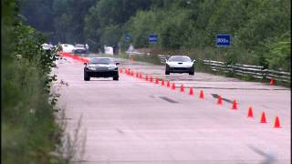 Moscow Unlim 500: Ferrari 575M vs Toyota Supra