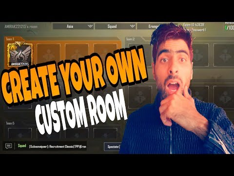 HOW TO CREATE CUSTOM ROOM IN PUBG MOBILE - JOIN CUSTOM ROOM IN PUBG MOBILE