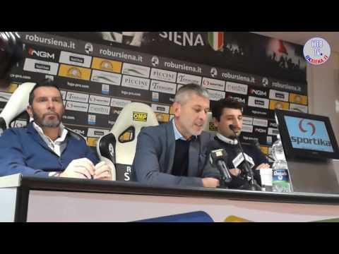 Presentazione Cristiano Scazzola - Robur Siena - 2016