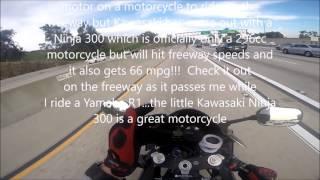 New Kawasaki Ninja 250 and 300 handles freeways just fine