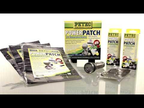 PETEC Anwendungsvideo zu unserer universellen UV Reparaturmatte Power Patch