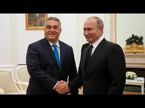 Μόσχα: Τη στενή σχέση τους επιβεβαίωσαν Πούτιν και Όρμπαν…