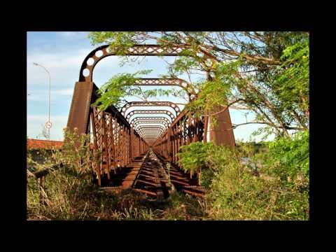 A Ponte de Ferro da Barra do Quaraí-RS