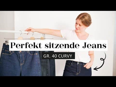 DIE Jeans für den schönsten Hintern | Perfekt sitzende Skinny Jeans Gr. 38/40 | Das weiße Reh