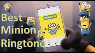 Best Minions Ringtone 小小兵鈴聲 (Universal Studios Minions Intro + BANANA)