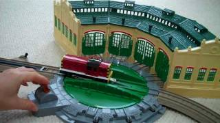 Trackmaster Tidmouth Sheds With  Thomas The Train Henry Salty & Arthur Kids Toy Train Set
