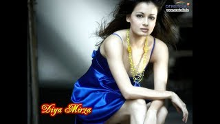 Dia Mirza Hot Cleavage   Don't Miss It