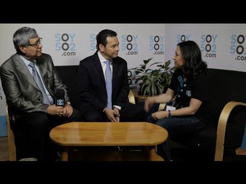 EN VIVO: Jimmy Morales concede entrevista para Soy502