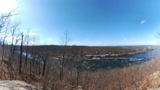 "360 view from ""dining rock"" at Goat Hill Park"