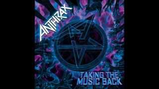 ANTHRAX - Taking The Music Back -Taking The Music Back E.P. - (RARE!!)