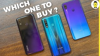 vivo Z1Pro vs Realme 3 Pro vs Redmi Note 7 Pro: which one to buy?