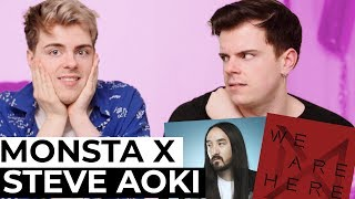 Are We The Reason MONSTA X Collaborated With Steve Aoki?