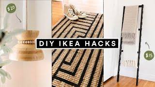DIY IKEA HACKS - Affordable DIY Room Decor + Furniture Hacks for 2021!