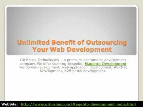 Unlimited Benefit of Outsourcing Your Web Development