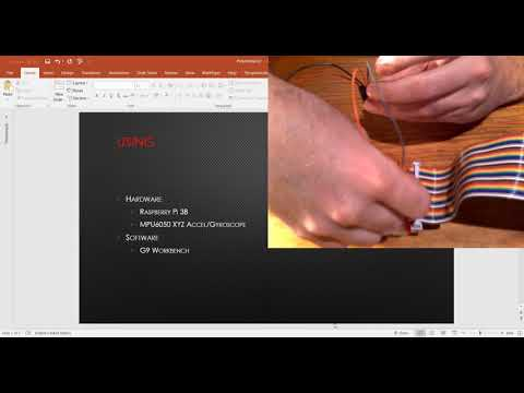 Raspberry Pi MPU-6000 6-Axis Motion Tracking Sensor Java