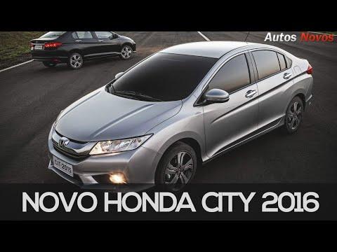 Honda City 2016 em detalhes