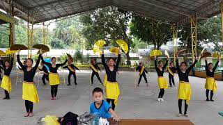 Modern ethnic dance