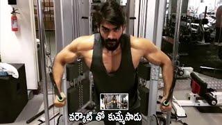 Hero Karthikeya Heavy Workouts in GYM   Karthikeya Latest Video
