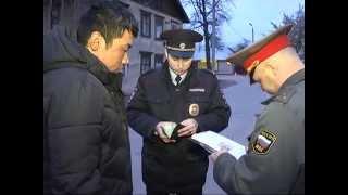 Рязанская полиция проверяет законность пребывания в стране мигрантов-строителей