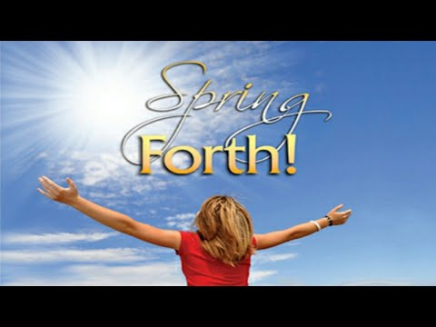 Yes you MAY! Spring Forth