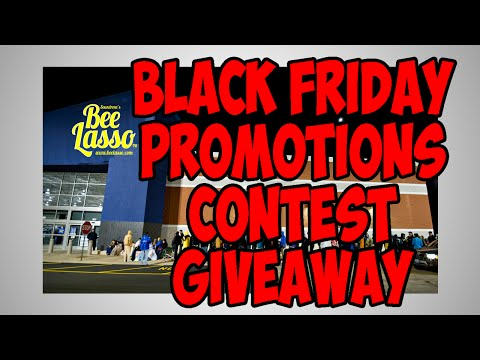 Black Friday Promotions and Giveaways