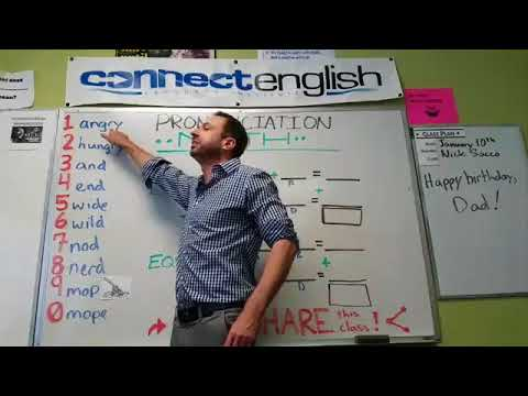 Connect English Pronunciation Math, Volume 4 - Mission Valley Campus