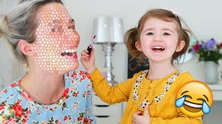 ❥ 820 - MA FILLE ME MAQUILLE ! 😅 Milababychou Challenge
