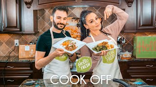 JWOWW Competes in a HelloFresh Cook Off!