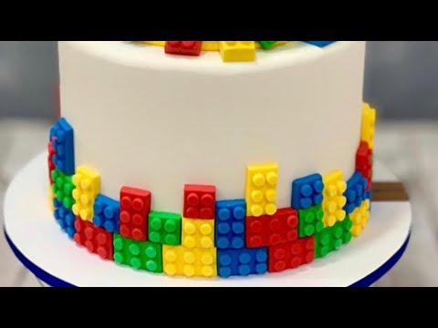 Как приготовить торт Лего