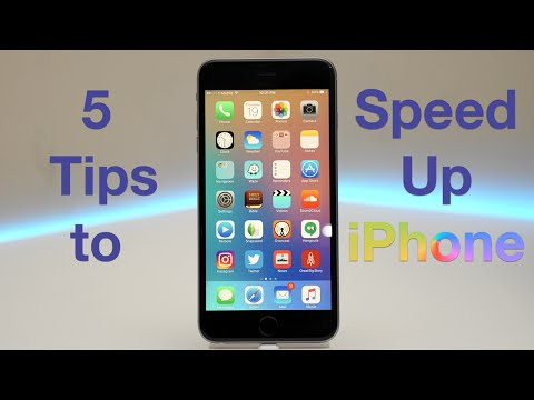 5 Tips to Speed up iPhone