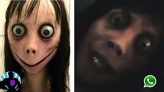 La aterradora vídeollamada que Momo realizó
