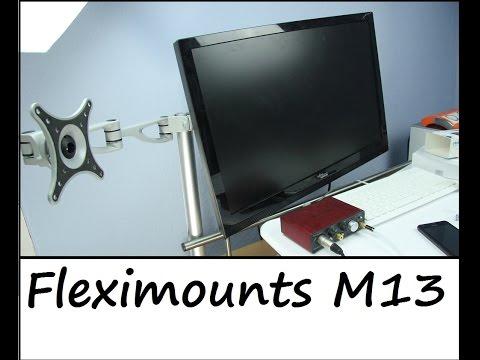 Monitorständer Fleximounts für 2 Monitore - Review - Deutsch