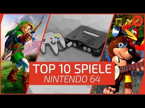 Top 10: NINTENDO 64 - Die erfolgreichsten Spiele für N64!