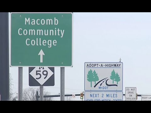 Major 2-year construction project on Hall Rd. begins in March from Romeo Plank to I-94