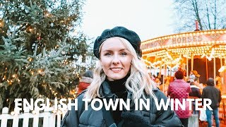 Visit an English Town in Winter! Living in the UK 🇬🇧