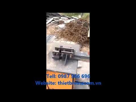 Máy cắt uốn sắt thép trung quốc
