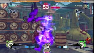 preview picture of video 'SSF4AE: Rommel [Dee Jay] vs BOTB_Brett [M.Bison] Counter Attack 2014'