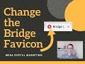 How to Change the Favicon for the Bridge Theme in WordPress