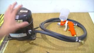 Como Fazer # Compressor de ar (PINTURA,ENCHER PNEUS,BALÕES, BEXIGAS)