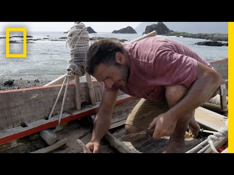 How to Fix a Leaky Wooden Boat | Primal Survivor