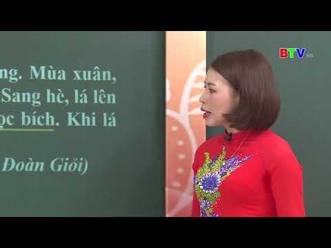 BTV Lớp 5 Môn Tiếng Việt Số 1 Ôn tập Tiếng Việt lớp 5 (NGÀY 20 3 2020)
