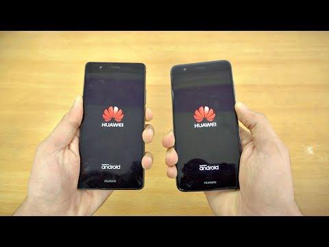 Huawei P10 Lite vs P9 Lite - Speed Test! (4K)