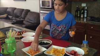 Fruit Kabobs With Jennifer Lauren