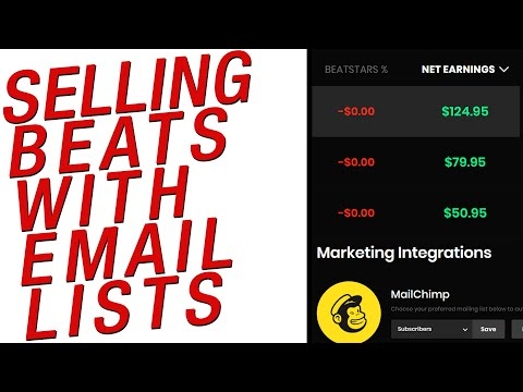 How To Actually Sell Beats Online: Email Marketing Secrets 2020