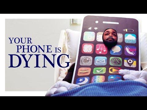 Umírající mobil - CollegeHumor