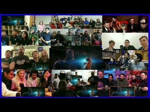 Marvel Studios' Avengers: Infinity War - Official Trailer Multi-Reaction Mashup (видео)